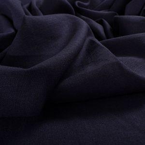 Tecido Linho Misto Span Azul Marinho
