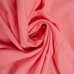 Tecido Linho Misto Span Cor de Rosa