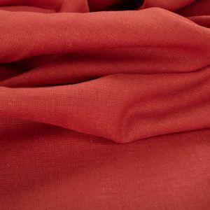 Tecido Linho Misto Span Coral Rosado Queimado
