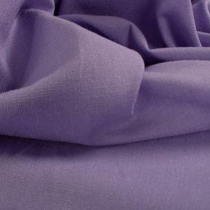 Tecido Linho Misto Span Lilás Azulado