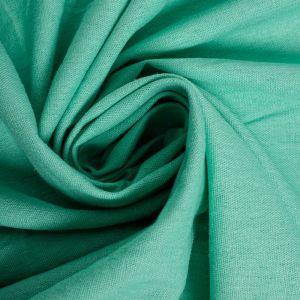 Tecido Linho Misto Span Verde Tiffany