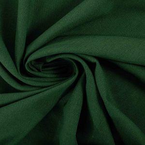 Tecido Linho Misto Verde Bandeira