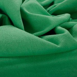 Tecido Linho Misto Verde Folha