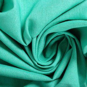 Tecido Linho Misto Verde Jade
