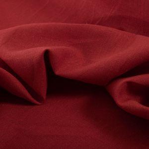 Tecido Linho Misto Vermelho Cereja
