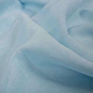 Tecido Linho Puro Azul Bebê