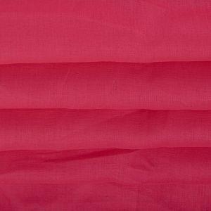 Tecido Linho Puro Rosa Choque Queimado