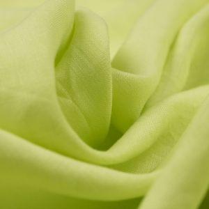 Tecido Linho Puro Verde Limão