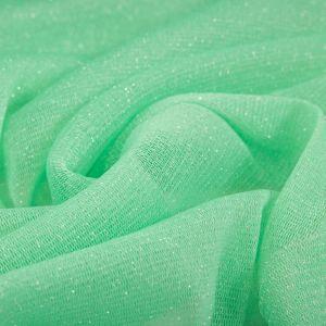 Tecido Lurex de Tule Verde Tiffany