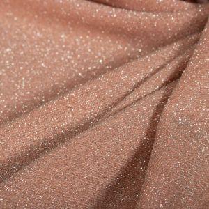 Tecido Lurex Rosé Nude