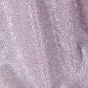 Tecido Malha Glitter Cor de Rosa com Prata