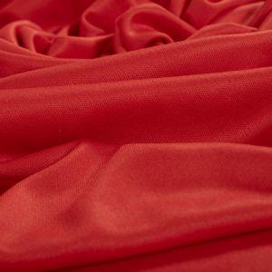Tecido Malha Helanquinha Tubular Vermelha