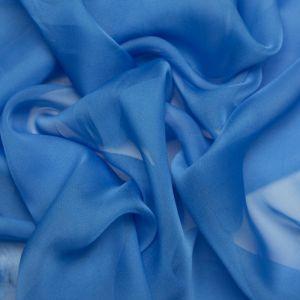 Tecido Musseline Dior Azul Claro