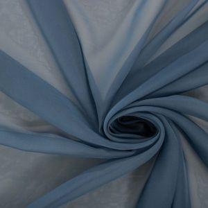 Tecido Musseline Dior Azul Petróleo