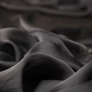 Tecido Musseline Dior Chumbo Claro
