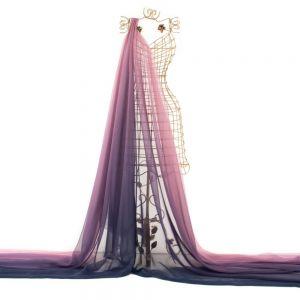 Tecido Musseline Dior Estampa Doncella Tie Dye