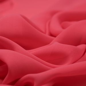 Tecido Musseline Dior Goiaba