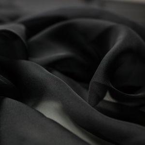 Tecido Musseline Dior Preto