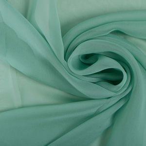 Tecido Musseline Dior Verde Menta