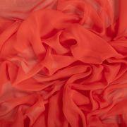 Tecido Musseline Dior Vermelho Tomate Cereja