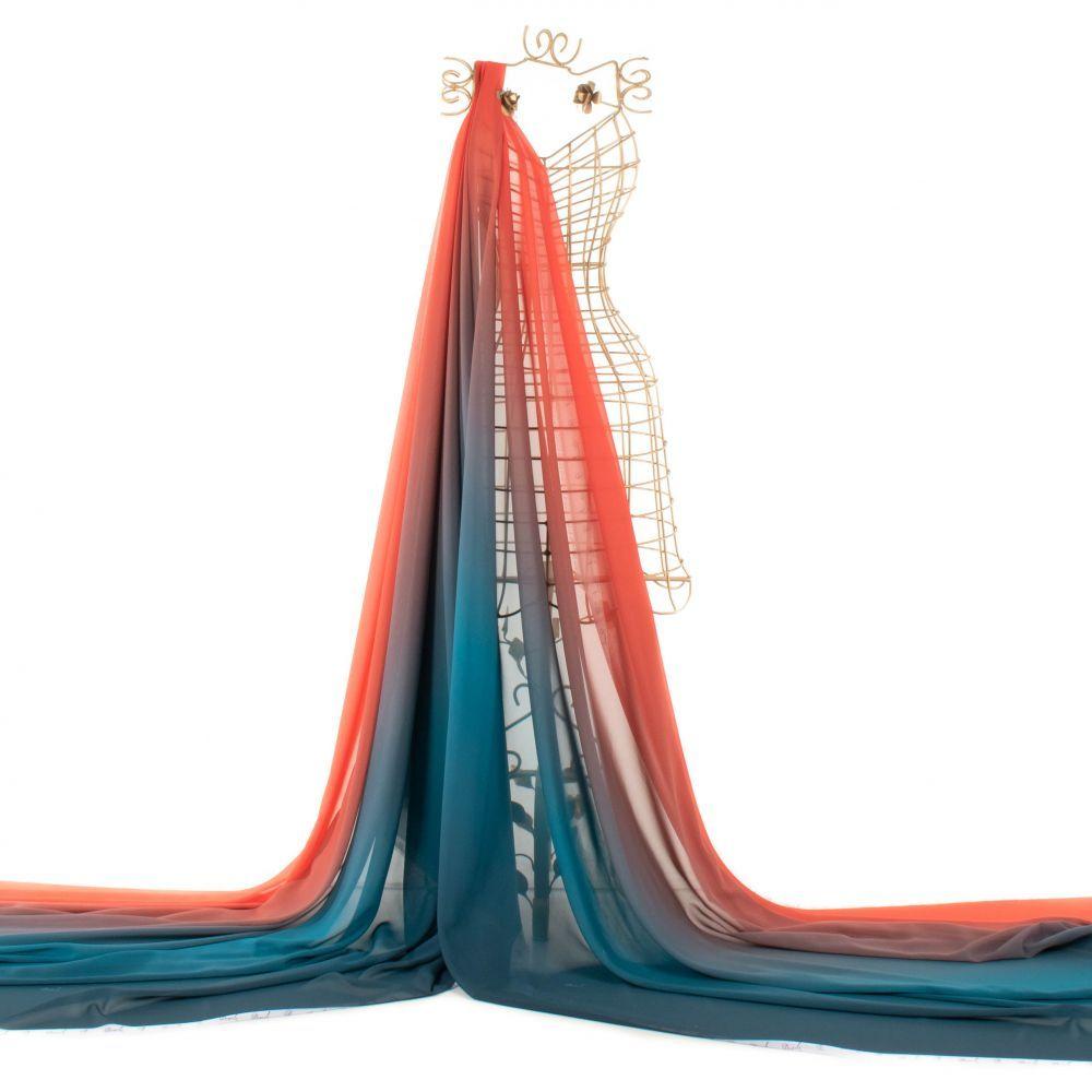 Tecido Musseline Estampa Doncella Tie Dye
