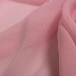 Tecido Musseline Seda Pura Rosa Bailarina Queimado