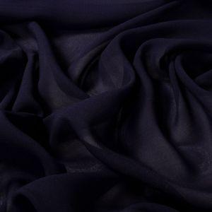 Tecido Musseline Toque de Seda Azul Marinho