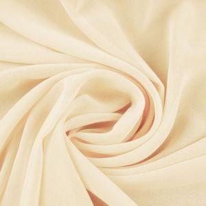 Tecido Musseline Toque de Seda Palha Bege