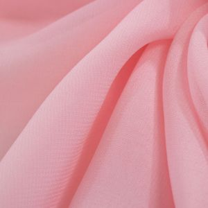 Tecido Musseline Toque de Seda Rosa Bailarina