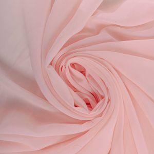 Tecido Musseline Toque de Seda Rosa Quartzo