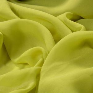 Tecido Musseline Toque de Seda Verde Banana