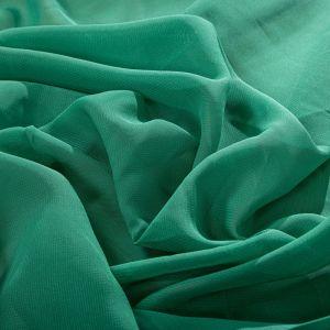 Tecido Musseline Verde Esmeralda