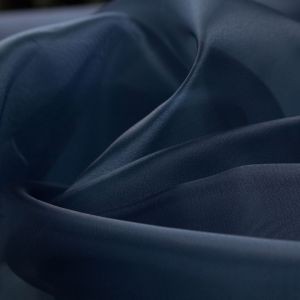 Tecido Organza Cristal Azul Marinho