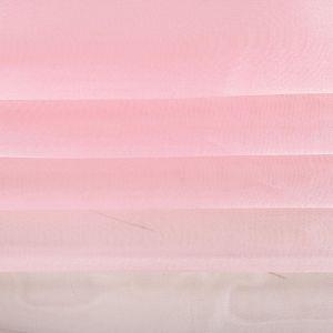 Tecido Organza Cristal Cor de Rosa