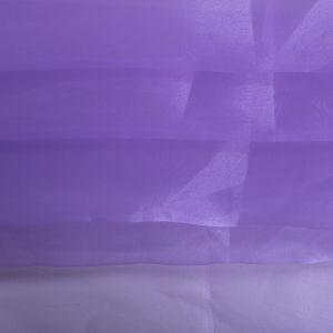 Tecido Organza Cristal Cor Violeta Claro