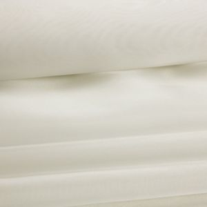 Tecido Organza Cristal Premium Off White