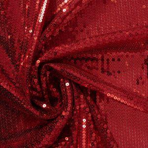 Tecido Paetê Vermelho