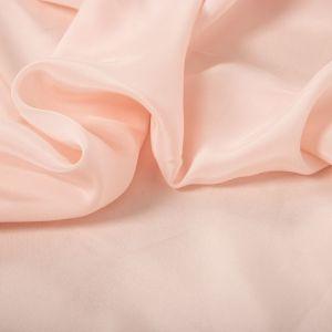 Tecido Palha de Seda Pura Rosa Quartzo