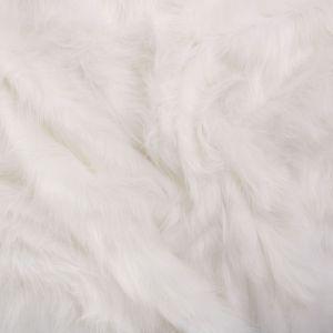 Tecido Pele Pelo Alto Branca