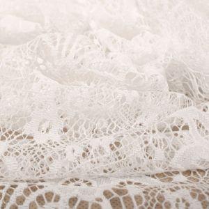 Tecido Renda Chantilly Arabesco Branco