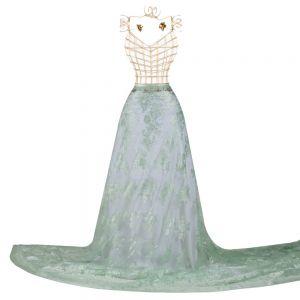 Tecido Renda Chantilly Francesa