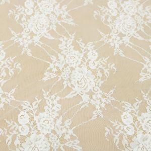 Tecido Renda Chantilly Off White