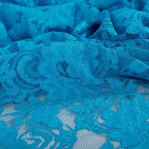 Tecido Renda Racine Azul