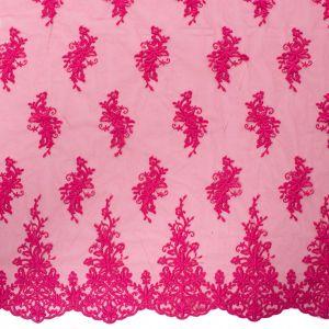 Tecido Renda Sutache Pink