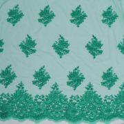 Tecido Renda Sutache Verde