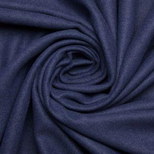 Tecido Retalho Lã Batida 1,80 MT Azul Marinho
