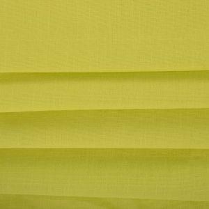 Tecido Sarja Trama de Linho Span Verde Limão Claro