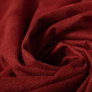 Tecido Sued Vermelho Ferrugem