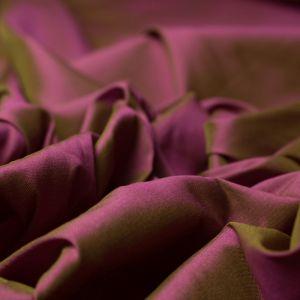 Tecido Tafetá Toque de Seda Changeant Fuchsia