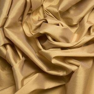 Tecido Tafetá Toque de Seda Dourado Claro